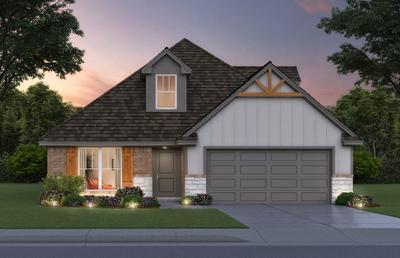 13941 Bedoya Road Piedmont OK new home for sale