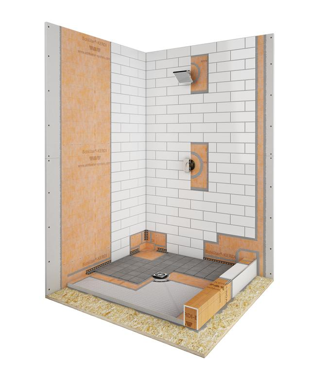 Schluter Shower System