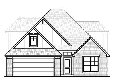 2,535sf New Home in Norman, OK