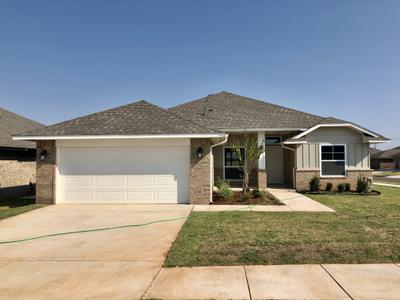 11001 NW 98th Street Yukon OK new home for sale