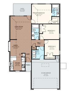 1,301sf New Home in Yukon, OK