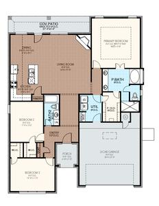 1,875sf New Home in Norman, OK