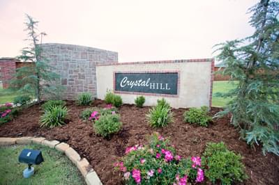 Crystal Hill Estates community in Oklahoma City OK