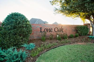 Lone Oak East community in Edmond OK