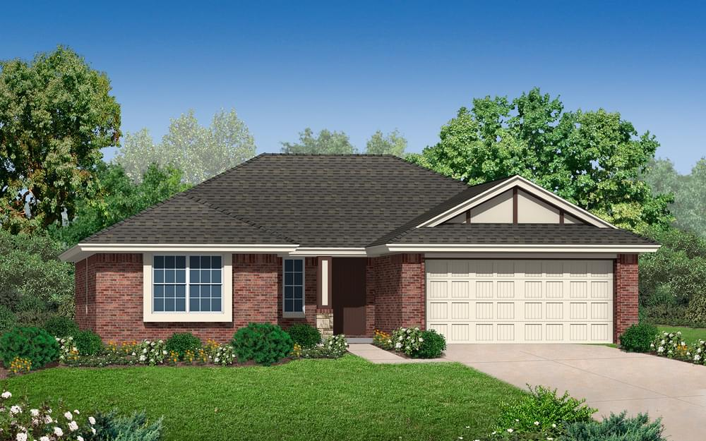 The Medallion Plus New Home In Midwest City Ok From