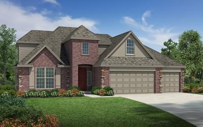 The Cleveland - 4 bedroom new home in Coweta OK