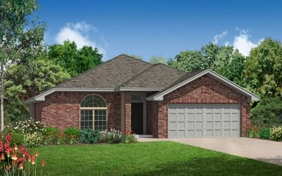 The Darlington New Home in Collinsville, OK