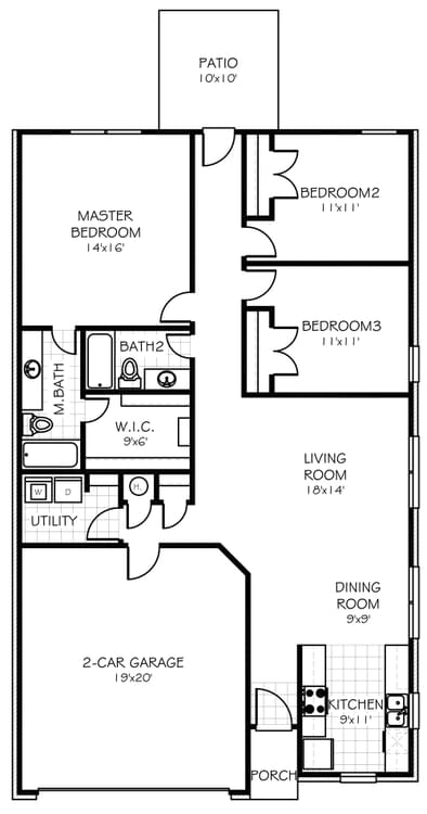 Floorplan Flip The Aspen Floorplan
