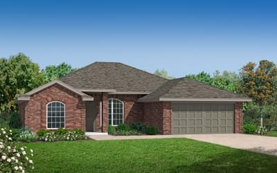 The Lockard - 4 bedroom new home in Coweta OK