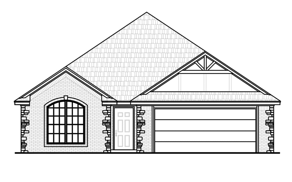 The Reagan New Home In Broken Arrow Ok From Home Creations