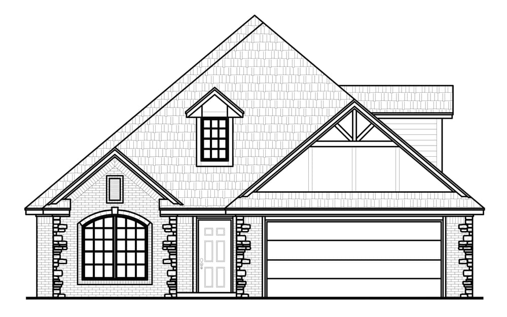 The Reagan Plus New Home In Broken Arrow Ok From Home