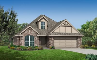 The Reagan Plus - 4 bedroom new home in Coweta OK