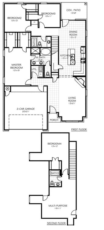 Floorplan Flip The Reagan Plus Floorplan