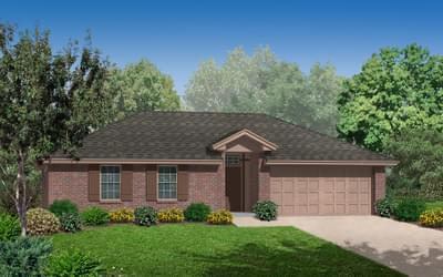 The Leeshire New Home in Broken Arrow, OK