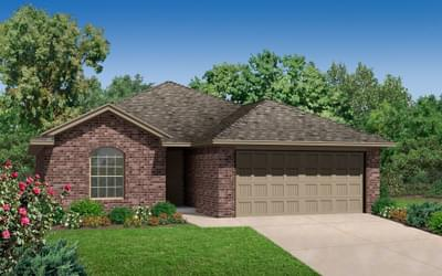 The McKinley Plus New Home in Broken Arrow, OK