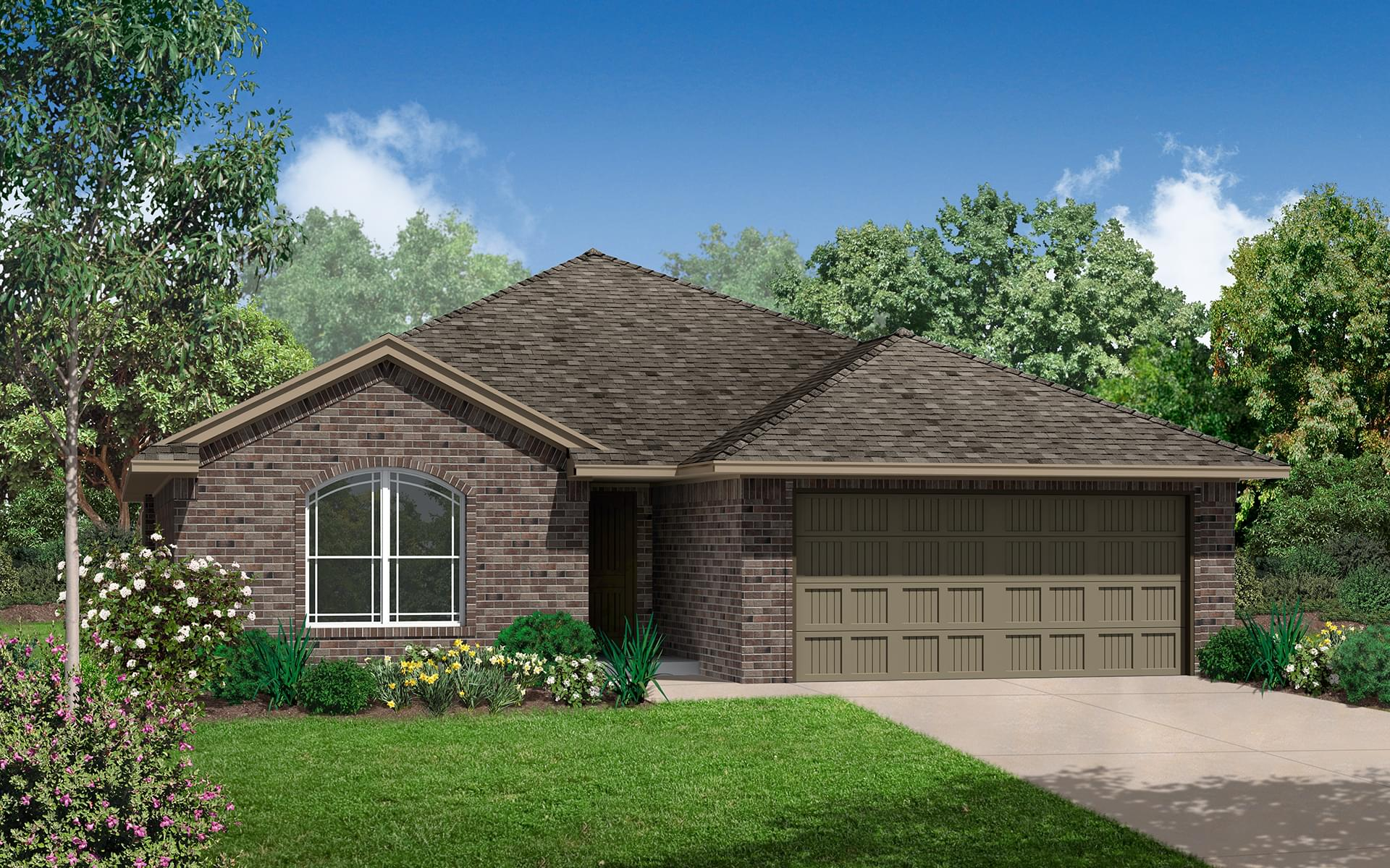 The Washington New Home In Glenpool Ok From Home Creations