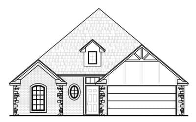 The Adams Elite New Home in Collinsville, OK