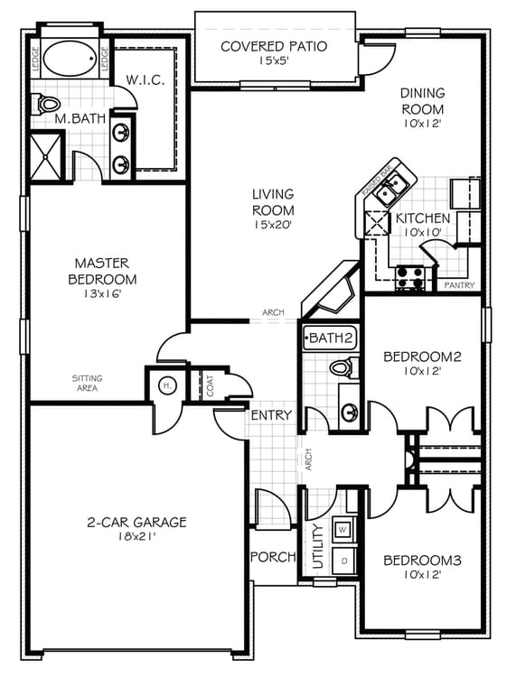 Floorplan Flip The Adams Elite Floorplan