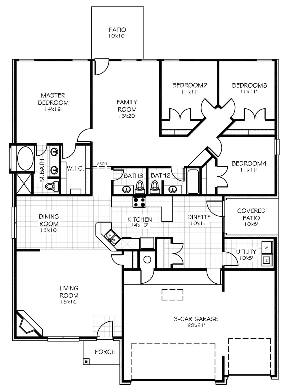 cool carrington homes floor plans. Carrington Elite Oklahoma Home Floorplan The  New from Creations