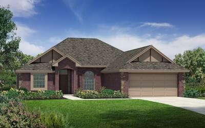 Elevation C. Carter Plus Elite New Home Floor Plan Elevation C