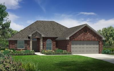 The Carter Plus Elite New Home in Oklahoma