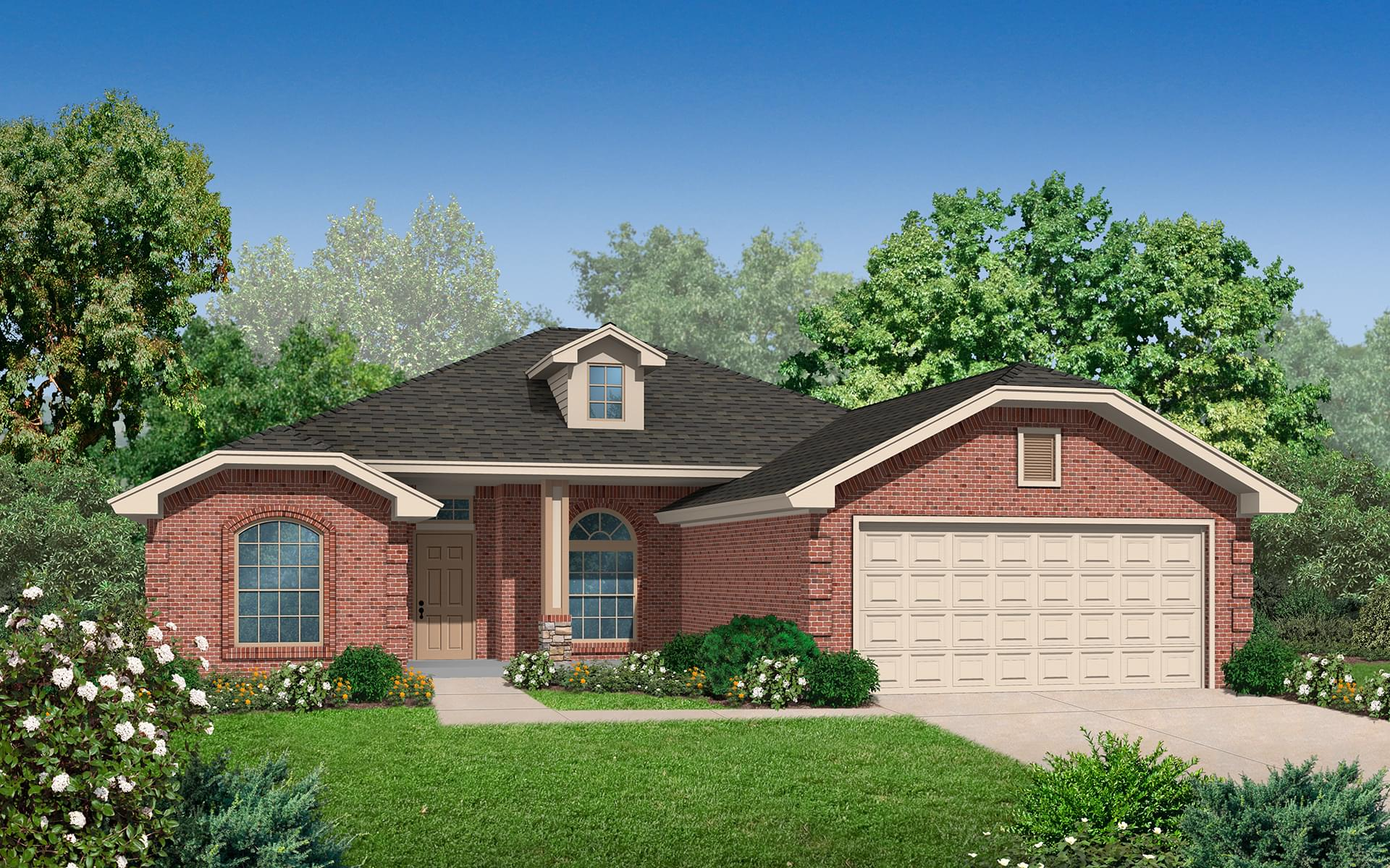 The Ashley Plus Elite New Home In Broken Arrow Ok From