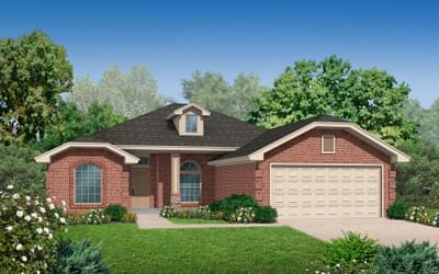The Ashley Plus Elite New Home in Oklahoma