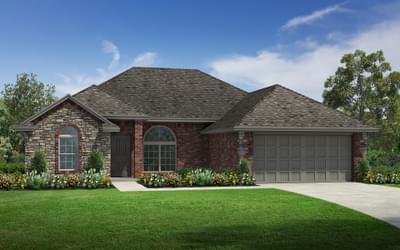 The Johnston Elite New Home in Oklahoma
