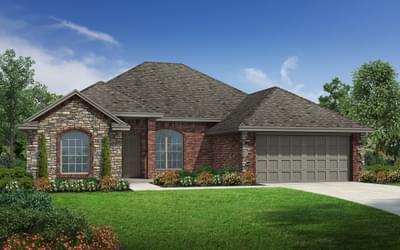 The Lockard Elite New Home in Bixby, OK