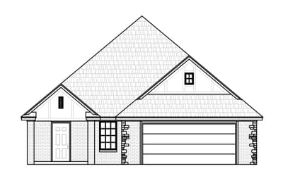 The Monroe Elite New Home in Claremore, OK