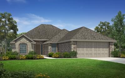 The Williamsburg Elite new home plan