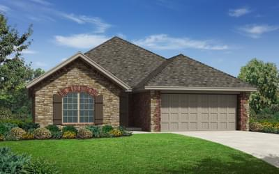 The Burkeshire Elite New Home in Oklahoma