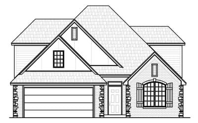 The Buchanon Platinum New Home in Oklahoma