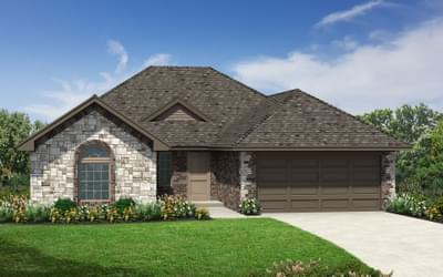The Brighton Plus Elite New Home in Oklahoma