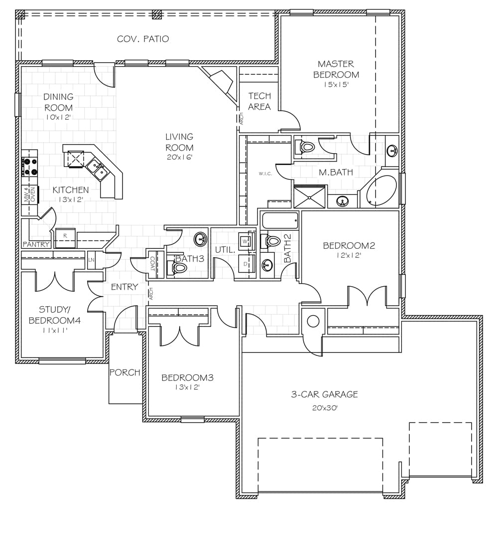the opal oklahoma new home from home creations floorplan standard