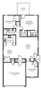 The Azalea New Home in Oklahoma City, OK