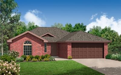 The Brighton Plus New Home in Oklahoma