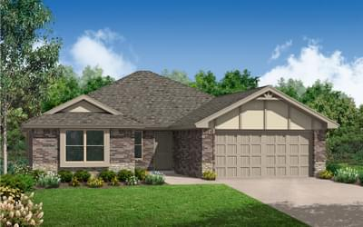 New Home for Sale in Edmond, 6713 NW 159th Street
