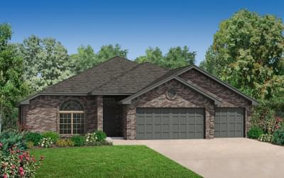 The Carrington - 4 bedroom new home in Midwest City OK