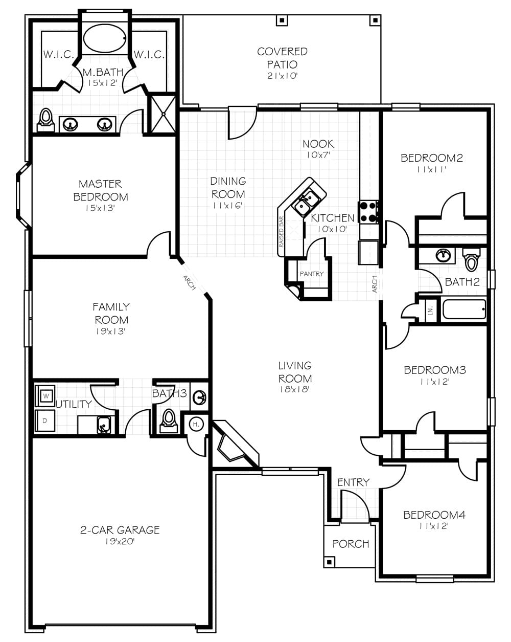 The Chelsea New Home In Norman Ok From Home Creations