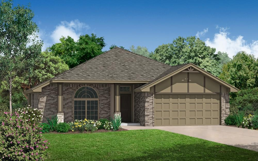 The Graeson New Home In Norman Ok From Home Creations