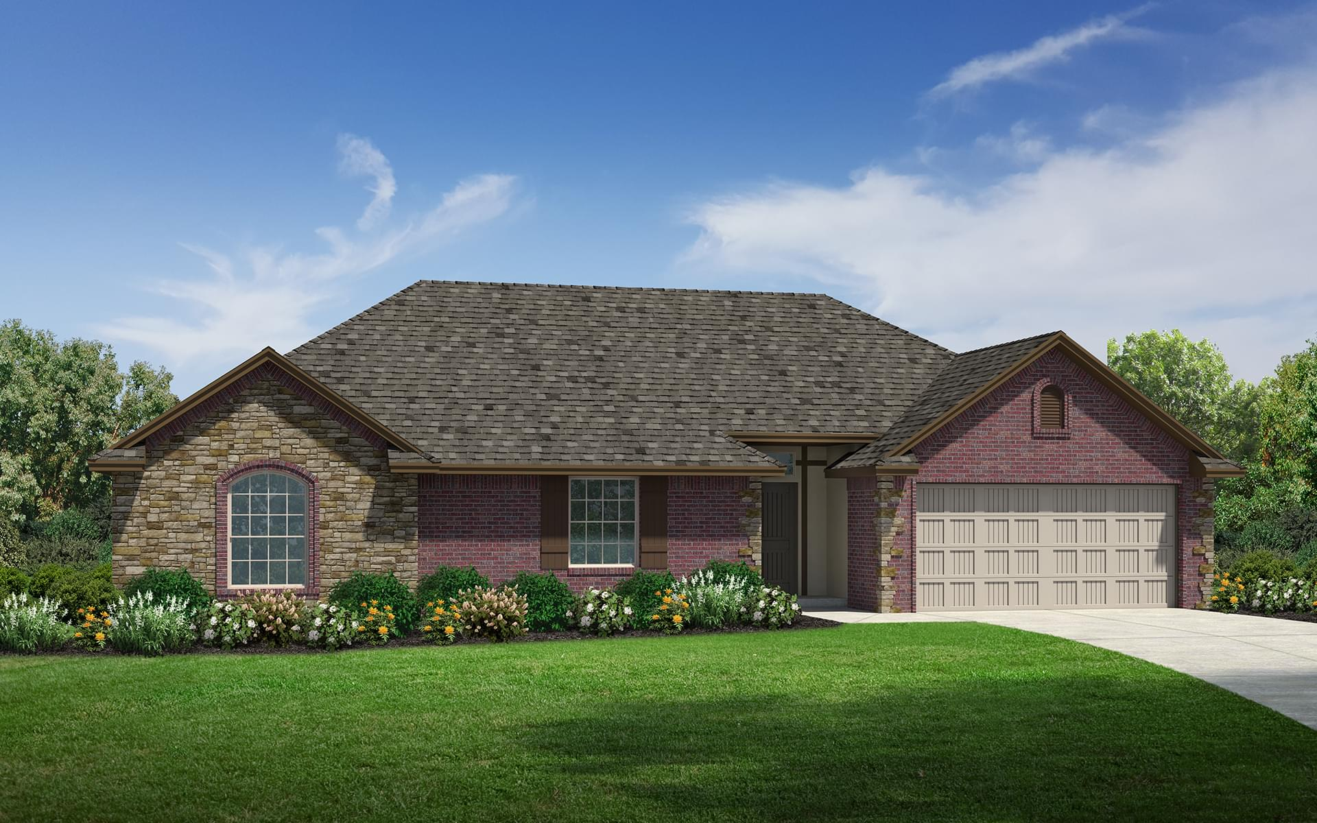 The Brooklyn Plus Elite New Home In Edmond Ok From Home