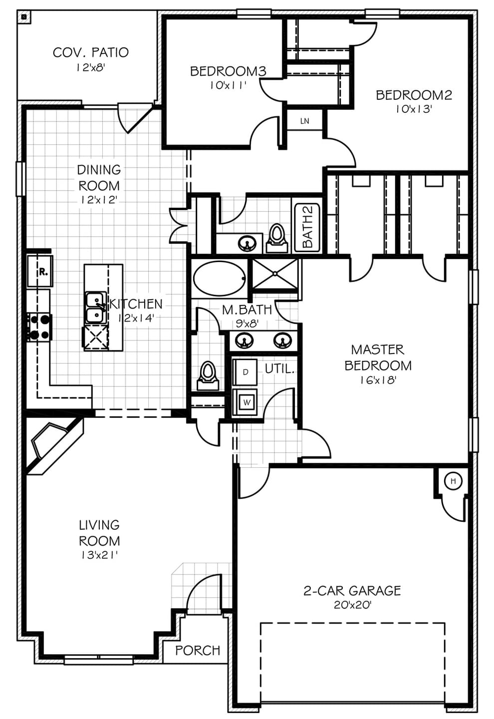 100 Home Plans Oklahoma The Harbor House Ft28603b