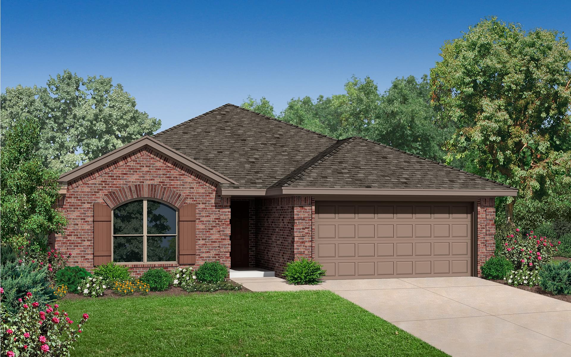 The Burkeshire Plus New Home In Norman Ok From Home