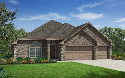 The Carrington Elite - 4 bedroom new home in Midwest City OK