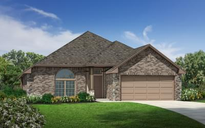 The Graeson Elite New Home in Midwest City, OK