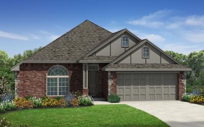 The Darlington Junior Elite New Home in Edmond, OK