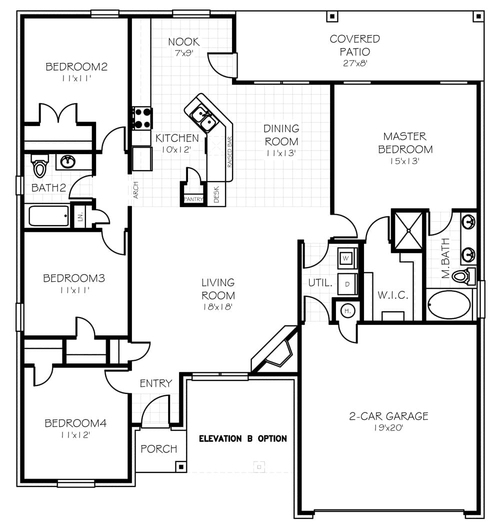 100 Home Creations Floor Plans Home Creations