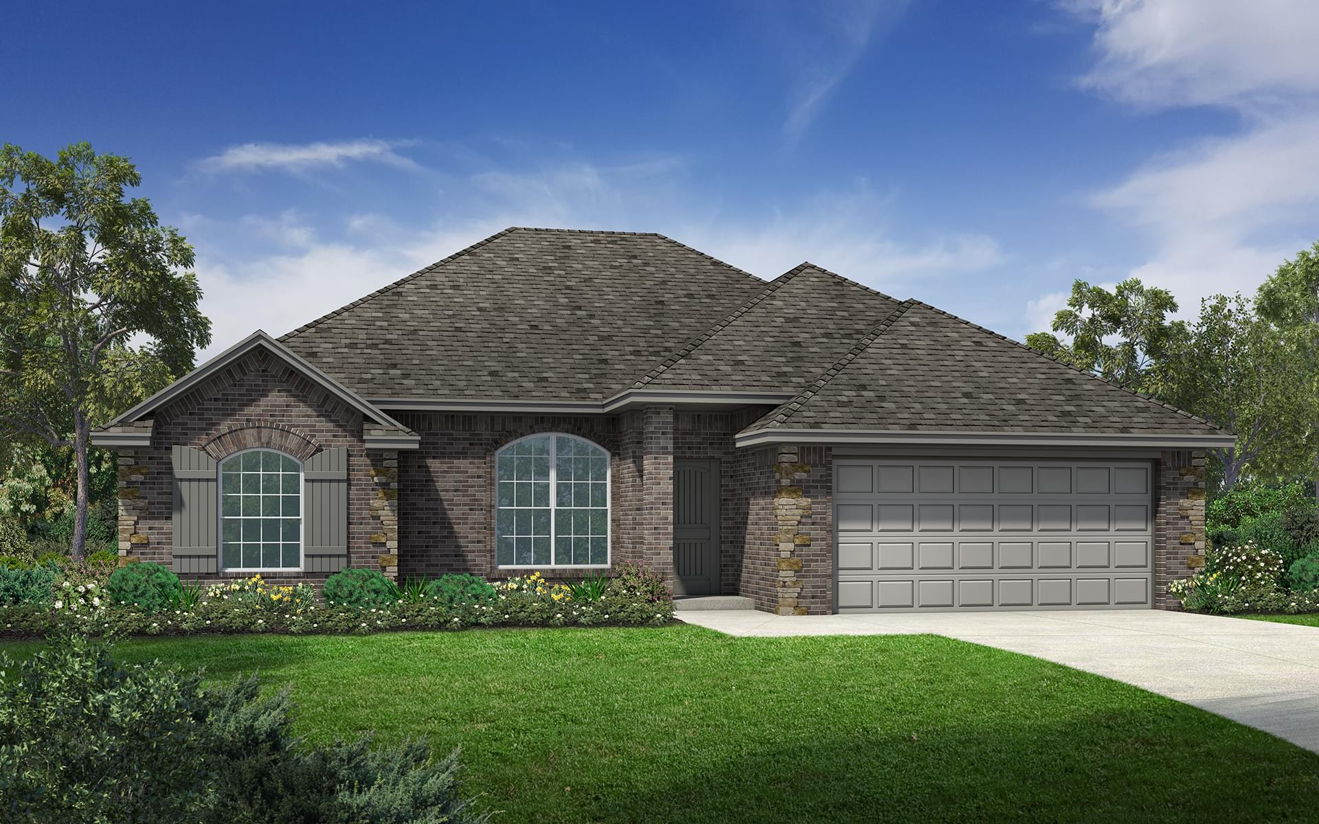 The Hartford Elite New Home In Norman Ok From Home