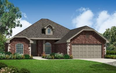 The Ashley Elite New Home in Piedmont, OK
